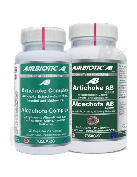 Alcachofa Complex Airbiotic - 90 cápsulas