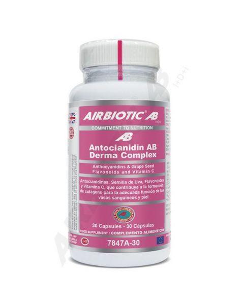Antocianidin Derma-Complex Airbiotic - 30 cápsulas