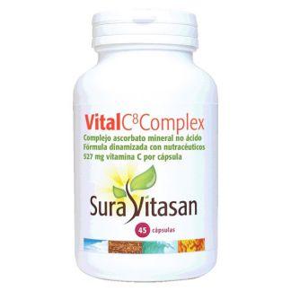 Vital C8 Complex Sura Vitasan - 45 cápsulas