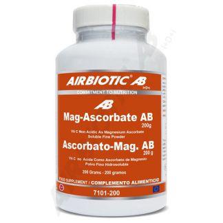 Ascorbato de Magnesio Airbiotic - 200 gramos