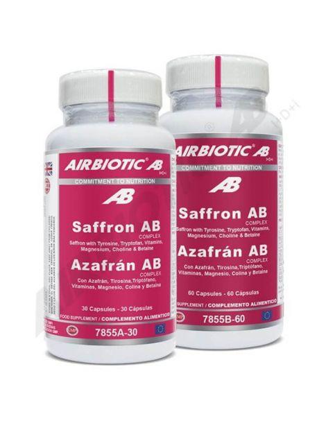 Azafrán Complex Airbiotic - 30 cápsulas