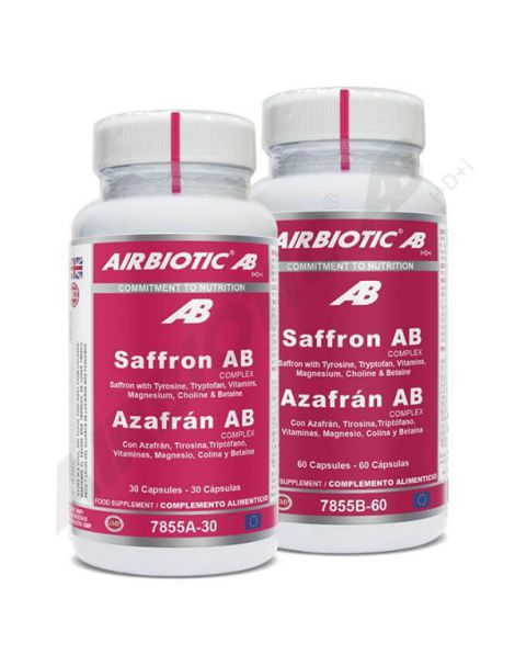 Azafrán Complex Airbiotic - 60 cápsulas