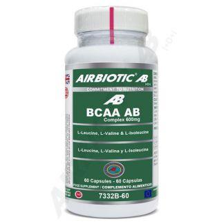 BCAA Complex 600 mg Airbiotic - 60 cápsulas