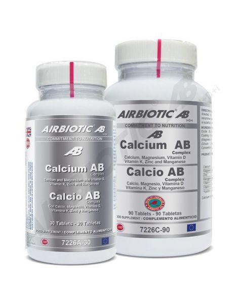 Calcio AB Complex Airbiotic - 30 comprimidos
