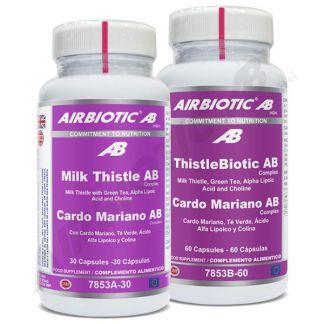 Cardo Mariano Complex Airbiotic - 30 cápsulas