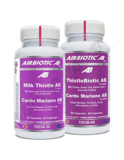 Cardo Mariano Complex Airbiotic - 60 cápsulas