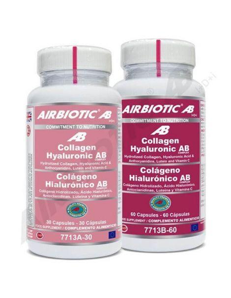 Collagen Hyaluronic Complex Airbiotic - 60 cápsulas