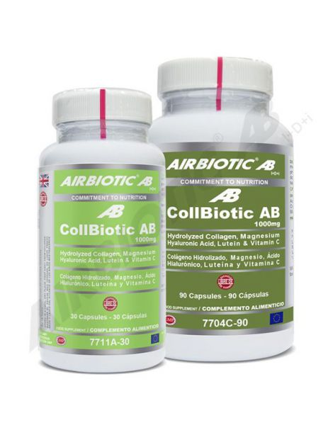 CollBiotic AB 1000 mg Airbiotic - 90 cápsulas