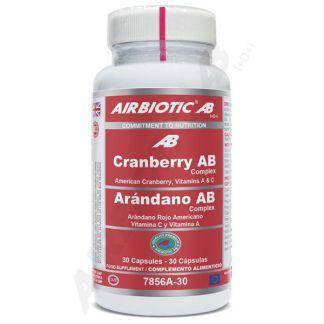 Cranberry Complex Airbiotic - 30 cápsulas