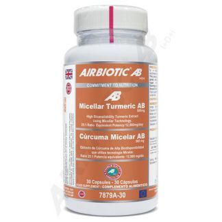 Cúrcuma Micelar Airbiotic - 30 cápsulas