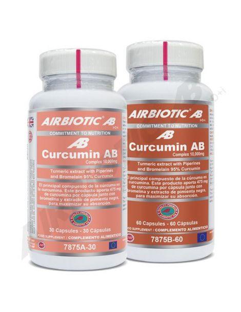 Curcumin Complex Airbiotic - 60 cápsulas