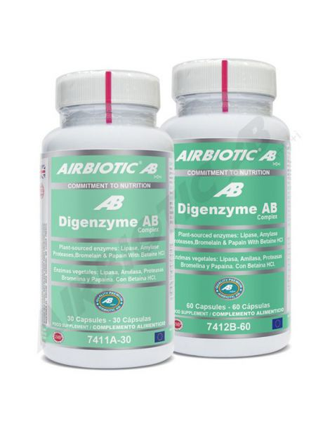 Digenzyme Complex Airbiotic - 30 comprimidos