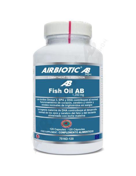 Fish Oil Airbiotic - 120 cápsulas