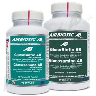 Glucosamina Max Airbiotic - 120 comprimidos