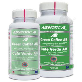 Green Coffee (Café Verde) Complex Airbiotic - 30 cápsulas