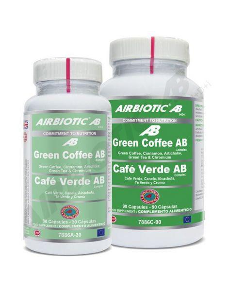 Green Coffee (Café Verde) Complex Airbiotic - 90 cápsulas