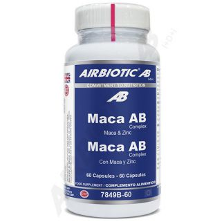 Maca Complex Airbiotic - 60 cápsulas