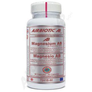Magnesium Bisglicinato Airbiotic - 60 cápsulas