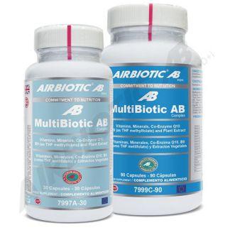 Multibiotic Airbiotic - 30 cápsulas