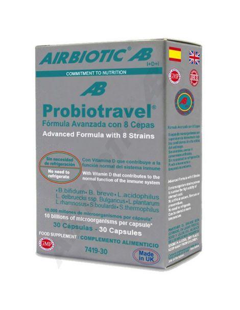 Probiotravel Airbiotic - 30 cápsulas