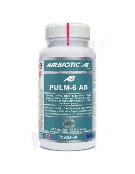 Pulm-6 AB Airbiotic - 60 cápsulas