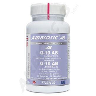 Q10 Complex AB 100 mg. Airbiotic - 30 cápsulas