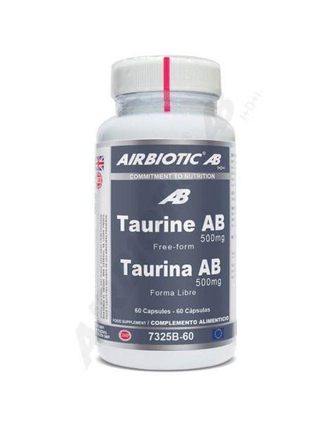 Taurina Airbiotic - 60 cápsulas