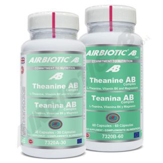 Teanina Complex Airbiotic - 30 cápsulas