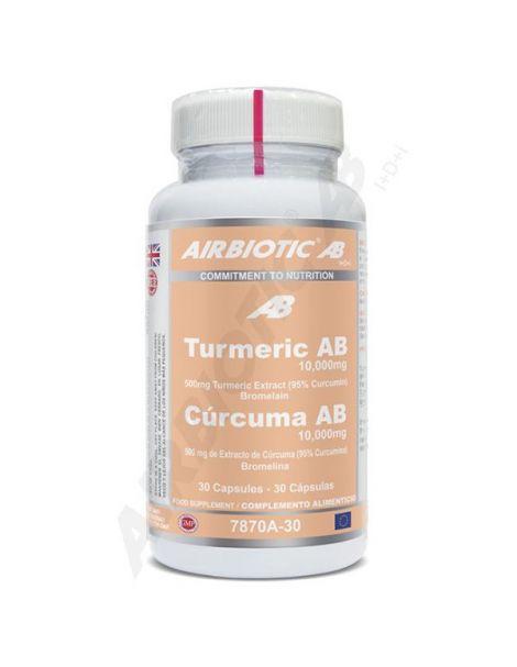 Turmeric (Cúrcuma) Airbiotic - 30 cápsulas