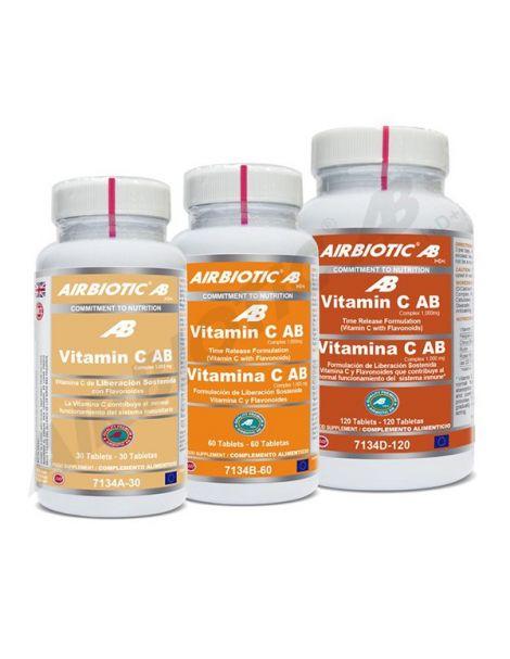 Vitamina C 1000 mg. Liberación Sostenida Airbiotic - 60 comprimidos