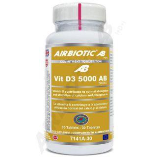 Vitamina D3 5000 UI Airbiotic - 30 comprimidos