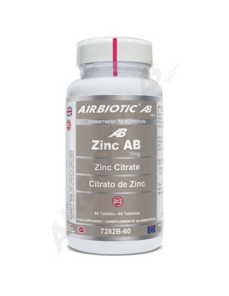 Zinc Airbiotic - 60 comprimidos