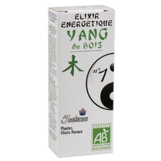 Elixir 01 Yang de la Madera 5 Saisons - 50 ml.