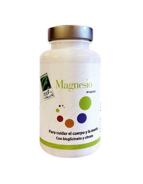 Magnesio Cien por Cien Natural - 90 cápsulas