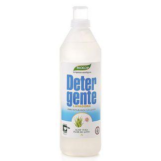 Detergente Líquido Aloe y Flor de Loto Biocop - 1000 ml.