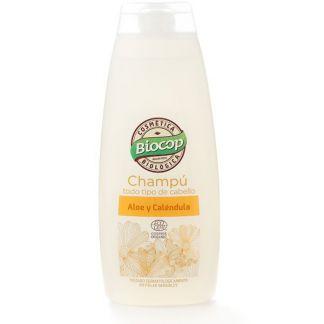 Champú de Aloe y Caléndula Biocop - 400 ml.