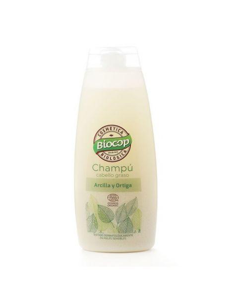 Champú de Arcilla y Ortiga Biocop - 400 ml.