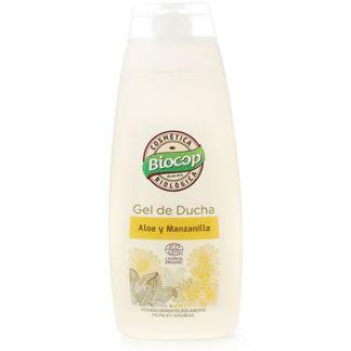 Gel de Aloe y Manzanilla Biocop - 400 ml.