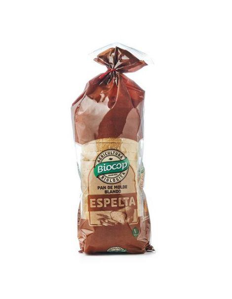 Pan de Molde de Espelta Blanco Biocop - 400 gramos