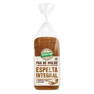 Pan de Molde de Espelta Integral Biocop - 400 gramos