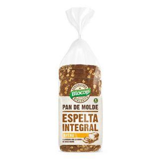 Pan de Molde de Espelta Integral Avena Biocop - 400 gramos