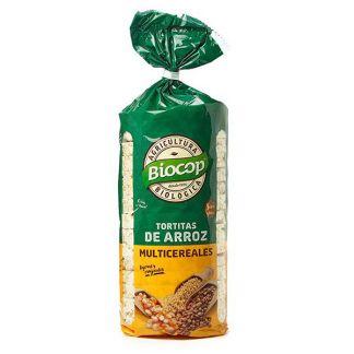 Tortitas de Arroz Multicereales Biocop - 200 gramos