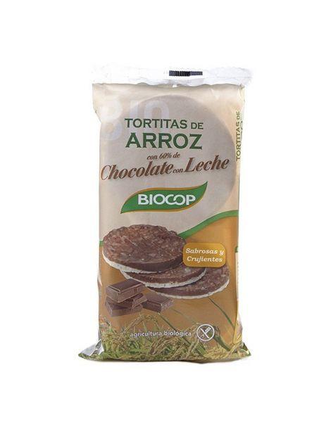 Tortitas de Arroz con Chocolate con Leche Biocop - 100 gramos