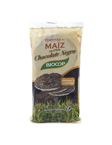 Tortitas de Arroz con Chocolate Negro Biocop - 100 gramos