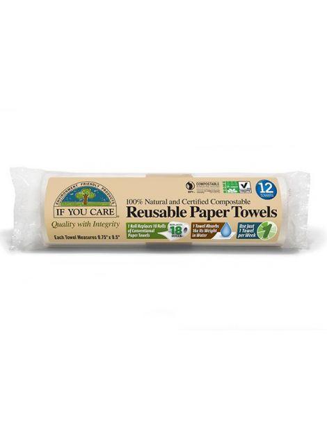 Bayeta de Papel Ecológica Reutilizable If You Care