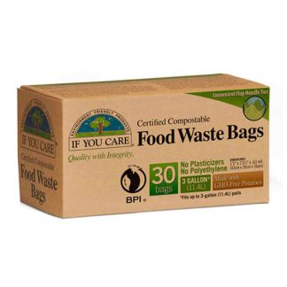 Bolsas de Basura Compostables Pequeñas If You Care