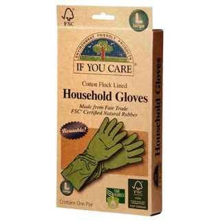 Guantes de Latex Ecológicos Talla Grande If You Care