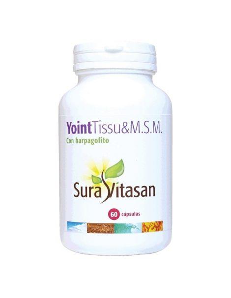 YointTissu & M.S.M. con Harpagofito Sura Vitasan - 60 cápsulas
