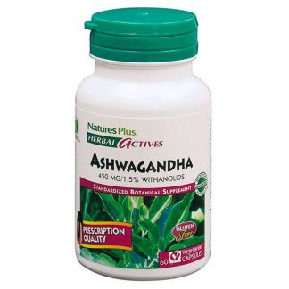Ashwagandha Nature's Plus - 60 cápsulas