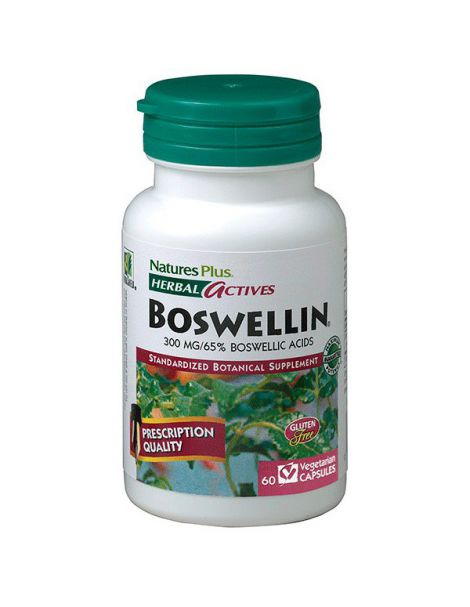 Boswellin Nature's Plus - 60 cápsulas
